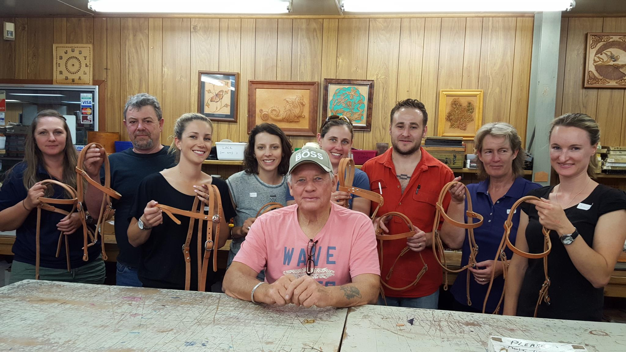 Making a Western Style Bridle with Alan Hartley