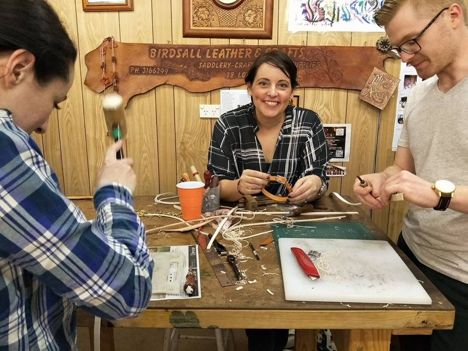 Making Dog Collars with Ann Maree Ager