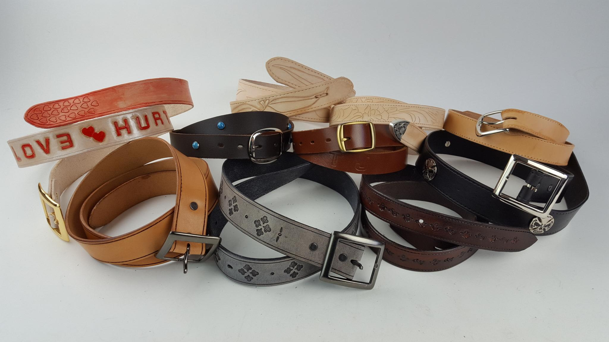 More Belts Galore