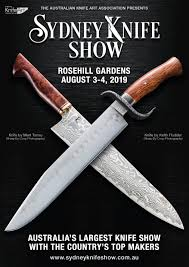 Birdsalls presence at the Sydney Knife Show