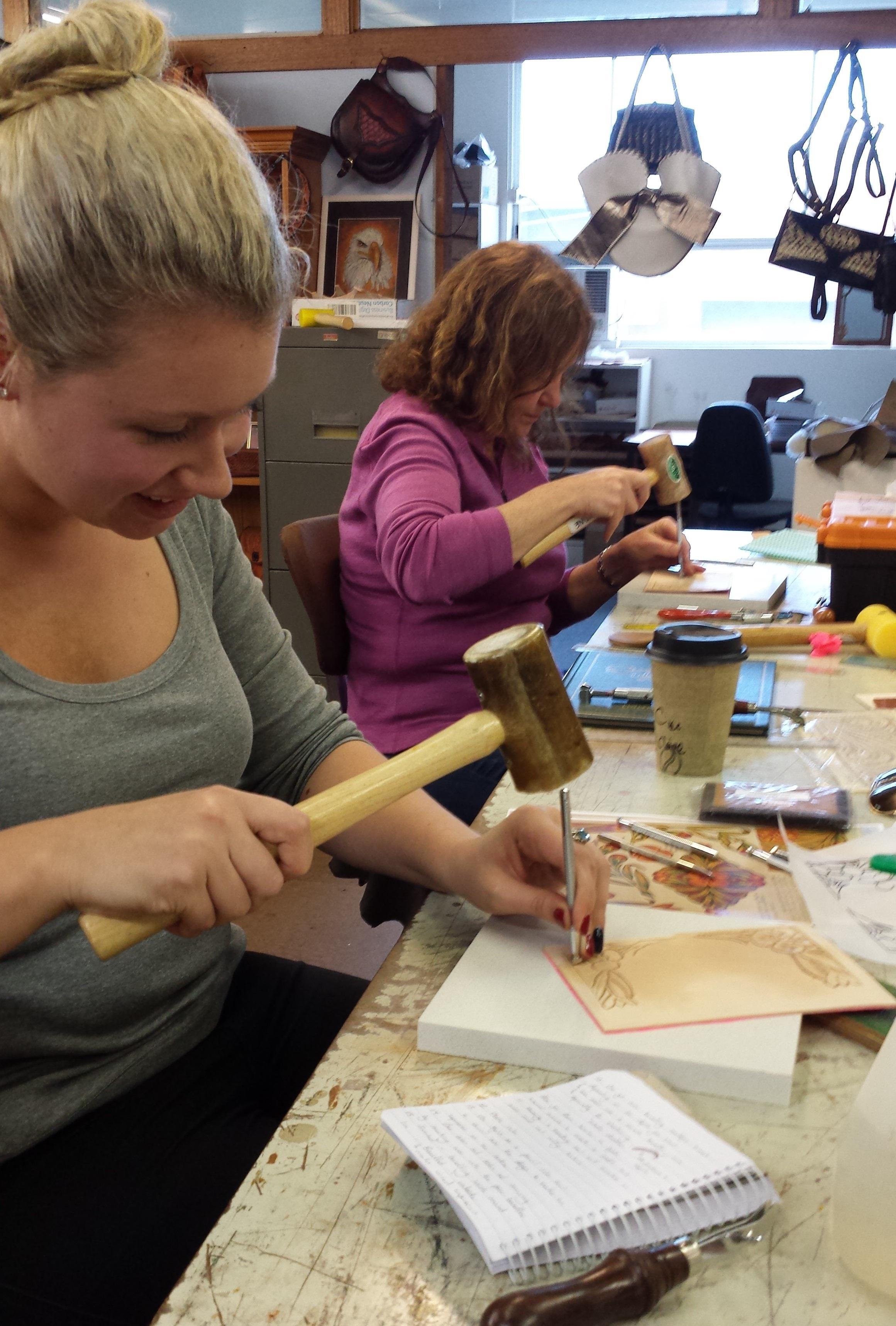 Carving & Tooling Workshop