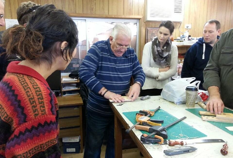 Moulded Knife Sheath Course with Ron Evans