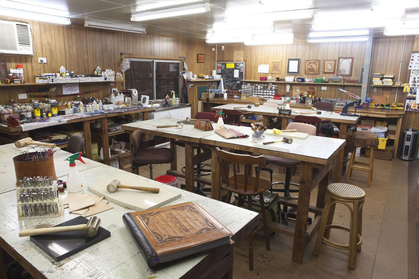 leather working course