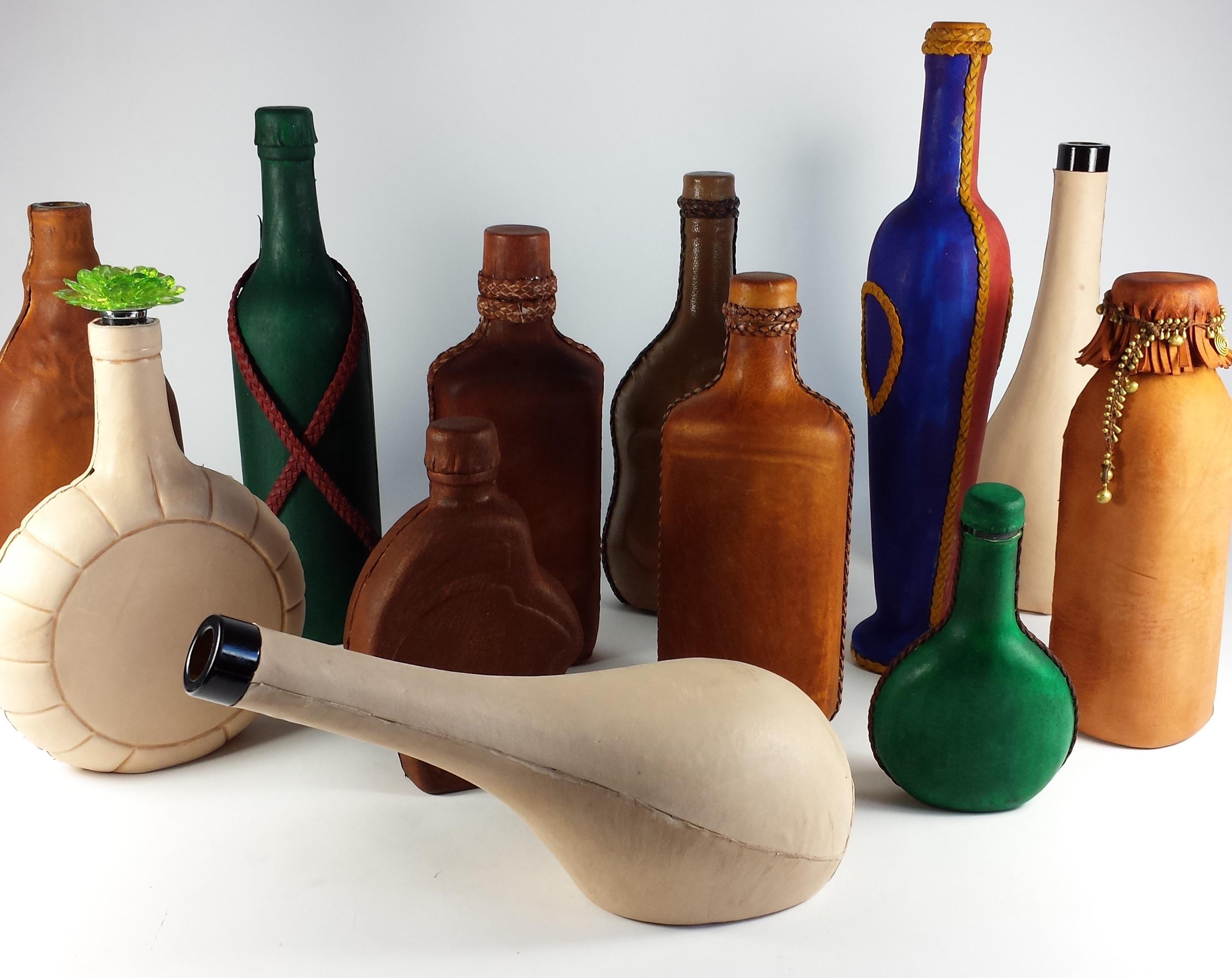 Covering a Glass Bottle with NZ's Sue Nelson