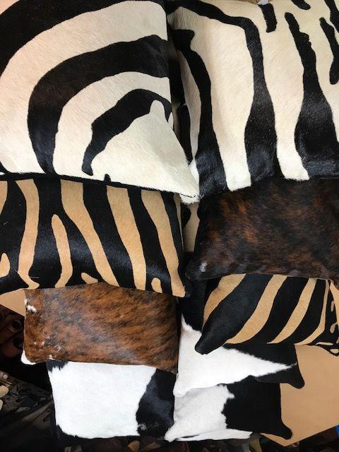 Cowhide Cushion 40cm x 40cm