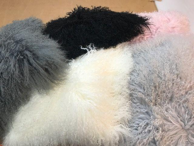 Mongolian Sheep Cushion 40cmsq