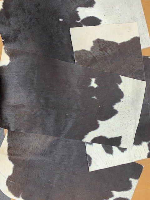Cowhide rug offcuts