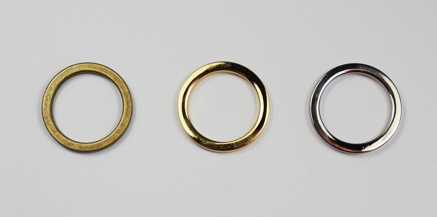 Flat metal ring 20mm
