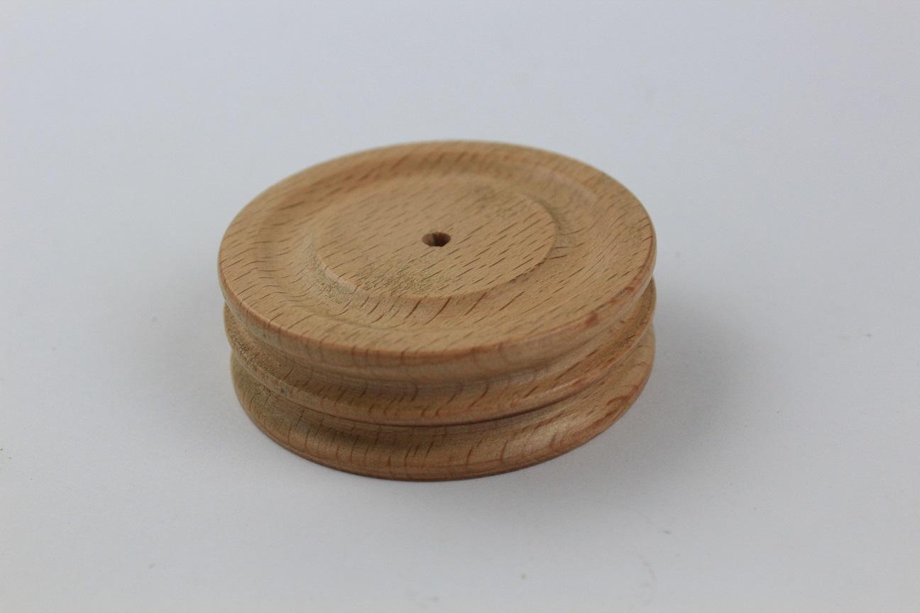 Wooden Dbl Circle Slicker