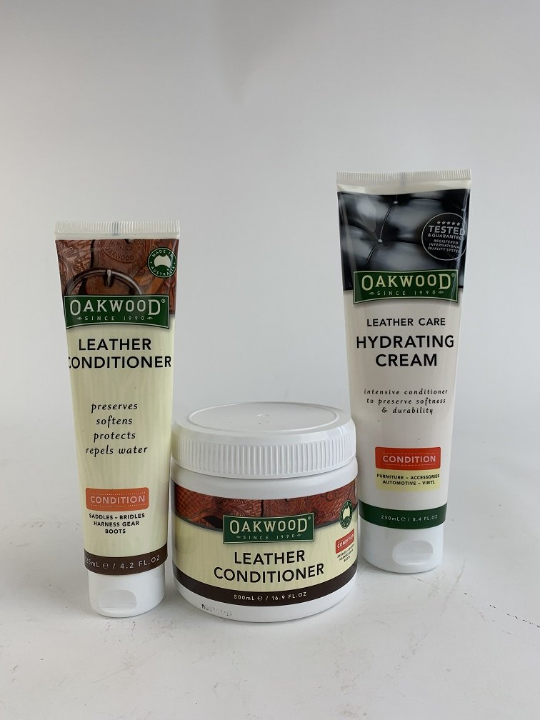Oakwood Leather conditioners