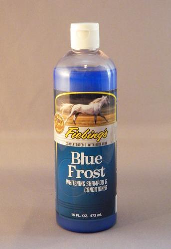 Blue Frost Whitening Shampoo