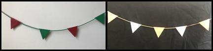 Leather Bunting Kit