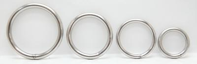 Welded Rings Nickle Plated