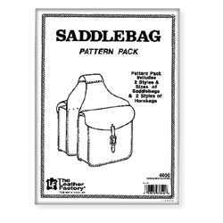 Saddlebag pattern pack