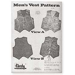 Mens Vest Pattern
