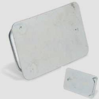 XL buckle blank Rectangle - Click for more info