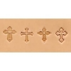 Embossing tool set 4 pc Cross - Click for more info