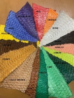 Exotic Glazed Fish Skins - Click for more info