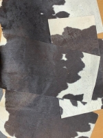 Cowhide rug offcuts - Click for more info
