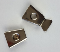 Bolo clip with centre hole - Click for more info