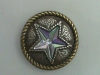 Round Abalone Star conchos - Click for more info
