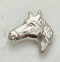 Horse Head screw on concho - Click for more info