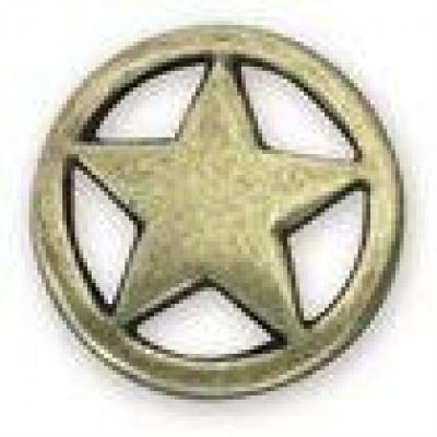 Ranger Star Antique Brass - Click for more info