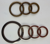 Flat rings 25mm to 50mm AB/NP - Click for more info