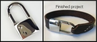 Jewellery clasp Padlock - Click for more info