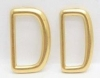 Plaiting dees Solid Brass - Click for more info