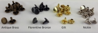 10mm Rivets Double Capped - Click for more info