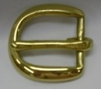 Half Buckle 25Mm Brass - Click for more info