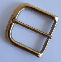 Solid Brass 38mm Half Buckle - Click for more info