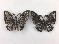 Butterfly Buckle Antique 38mm - Click for more info