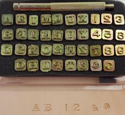 Alpha, Number and Symbol set - Click for more info