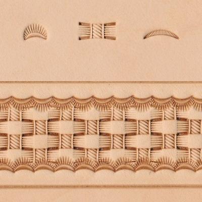 Basketweave Stamp Set - Click for more info