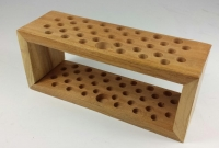 Wooden Tool Rack - Click for more info