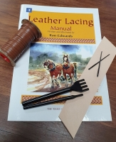 Leather Lacing Kit - Click for more info