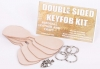 Double sided key fob kit - Click for more info
