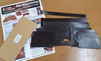 Kangaroo leather wallet kit - Click for more info