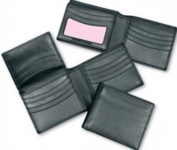 Mens Finished Wallet Black - Click for more info