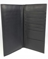 Passport Wallet Black - Click for more info