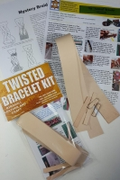 Twisted Leather Bracelet kit - Click for more info