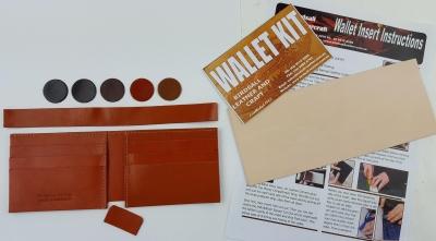 Wallet insert 6 slot cards Kit - Click for more info