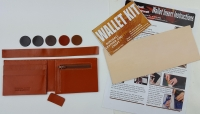 Wallet insert Zip purse Kit - Click for more info