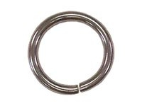 Unwelded Rings nickle plated - Click for more info