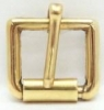 Brass Half Roller Buckles - Click for more info
