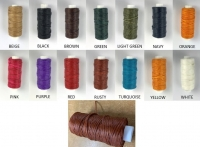 Waxed thread 1mm x 25yd - Click for more info