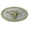 Longhorn Oval Concho - Click for more info