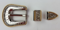 Buckle Set 3/4In (Gold/Si - Click for more info